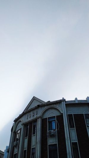 Architecture Sky Built Structure No People Low Angle View Building Exterior Nature
