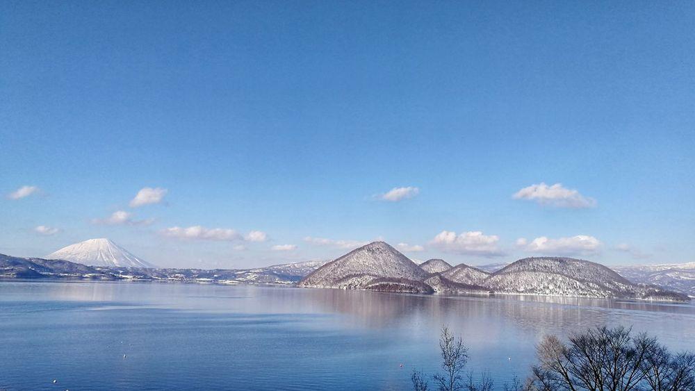 Laketoya Hokkaido Japan Mountyotei Day Nature Travel Destinations Water Cloud - Sky Outdoors Snow