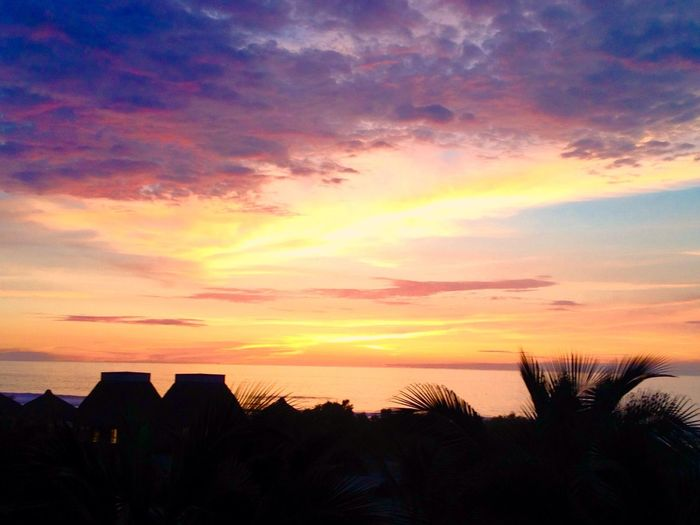 Punta Sal, Tumbes, Peru 6:30pm Paradise Beach Neverland!!<3 Sunshine Happyclouds Magic Sunset_collection