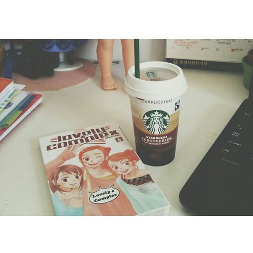 Manga Frappuccino Desk Daily Pastelcolors Sweet
