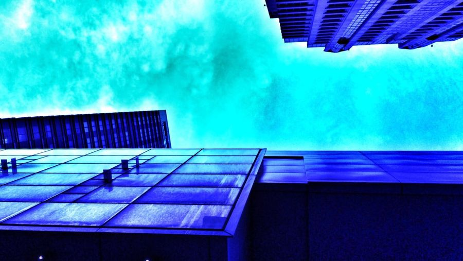 Lookingup Blue Taking Photos Pantone Colors By GIZMON Turquoise By Motorola