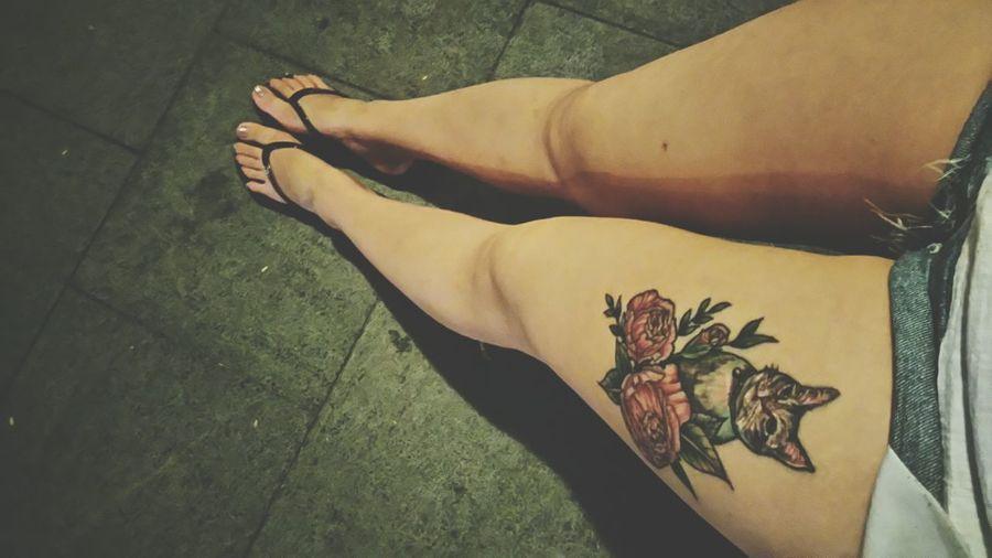 Tattoo Hi! Enjoying Life HongKong