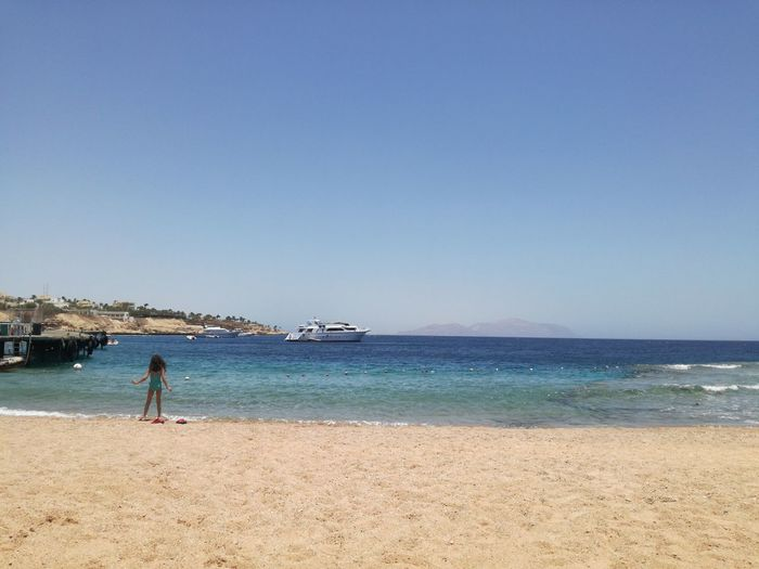 Hello from the other side <3 Beach Sand Sea Sunny Summer Vacations Travel Destinations Egypt Sharm El-Sheikh Visit Egypt