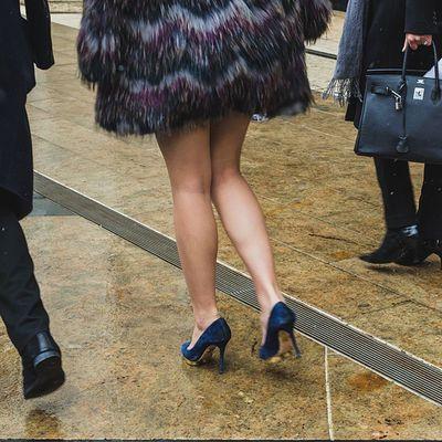 High heels at Lincolncenter 2015 Nyfw Streetphotography Fashionweek fashion recentwork NYC heels
