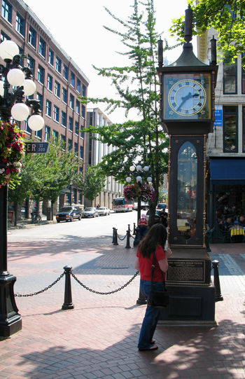 Gastown Steamclock Architecture British Columbia Built Structure Canada City Life City Street Gastown Gastownsteamclock Gastownvancouver Steamclock Vancouver Vancouver BC Feel The Journey