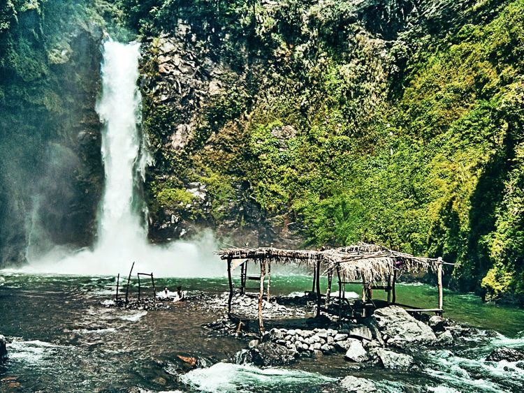The gushing cold waters of Tappiya Waterfalls in Batad, Banaue, Philippines. Batad Beauty In Nature EyeEm EyeEm Nature Lover EyeEmNewHere Nature Outdoors Philippines Scenics Tappiya Falls Tranquility Travel Travel Destinations Travel Photography Water Waterfall EyeEmNewHere The Great Outdoors - 2017 EyeEm Awards