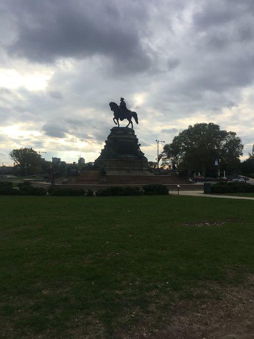 Statue Napoleon Bonaparte Philadelphia