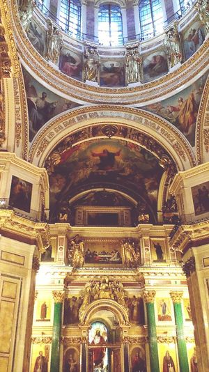 Saint Petersburg Saint Isaac's Cathedral Russia