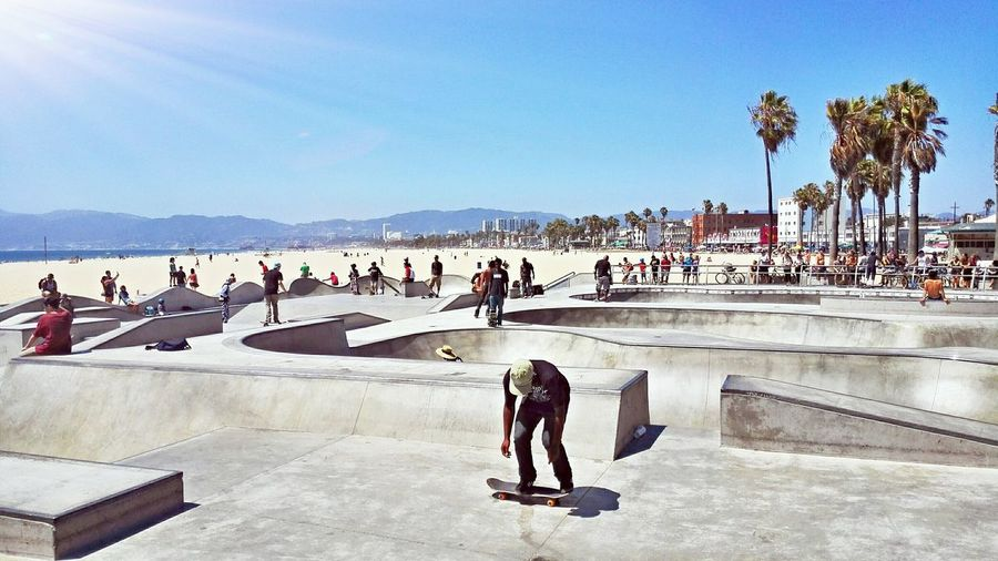 From Venice to Venice Beach! ✌ Venice Beach California United States USA West Coast EyeEm The Week Of Eyeem Skaters Showcase: February Byebye 👋📷🎩 An Eye For Travel The Traveler - 2018 EyeEm Awards Summer Road Tripping