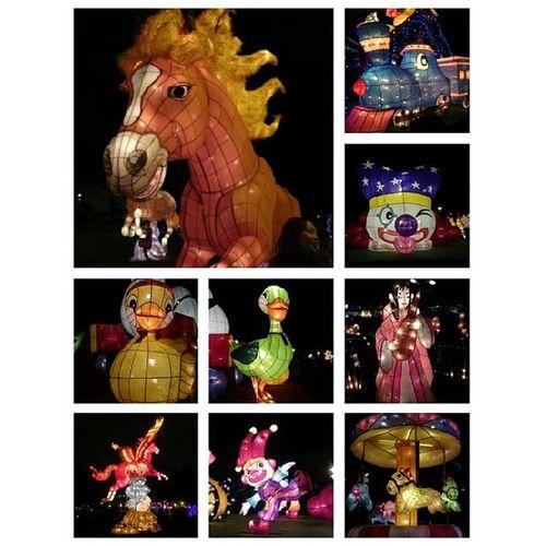 Yuanshan TaipeiExpoPark Lantern Festival horse 2014
