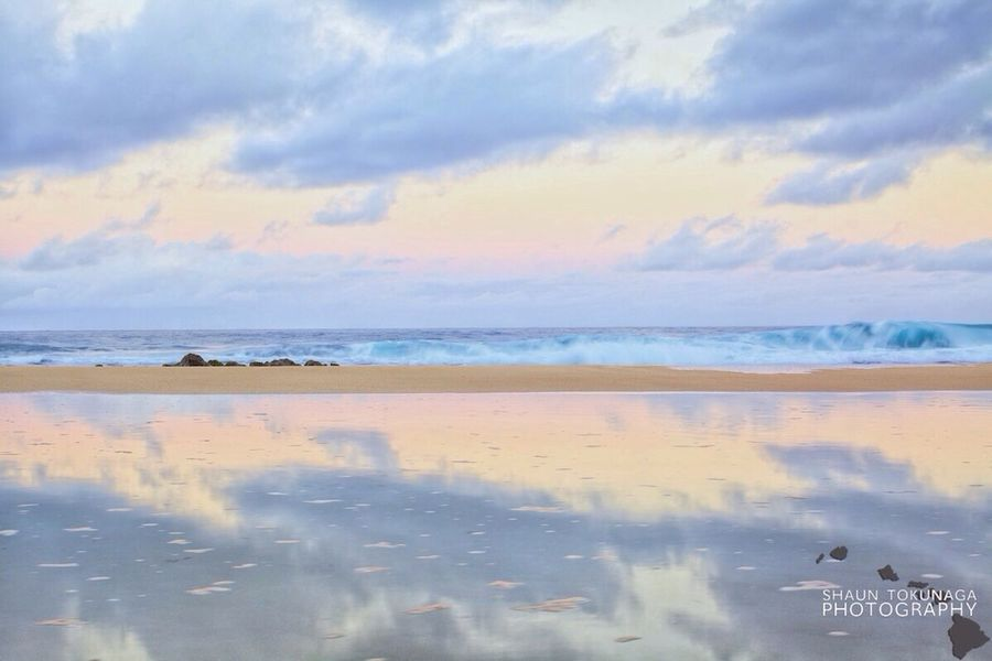 Degrees Of Separation Sky Water Reflections Sunrise EyeEm Best Shots