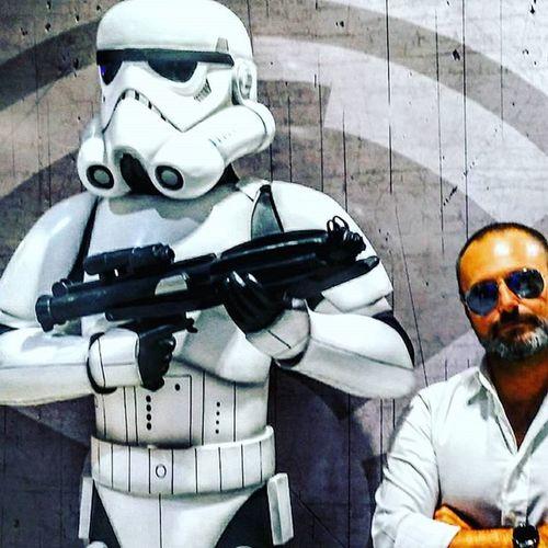 """Are you looking for a droids,dude?"" Starwars Starwarsnerd Starwarsfans Stormtrooper Nikeplus Runner Moviescene Moviemaker Movieface Webseries Videomaker Seriestv Tvseries Iliveinamovie"