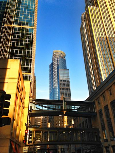 Capella Tower DowntownMPLS Minneapolis Minnesota Looking Up Architecture Urbanscape Urban Geometry Nicolett Mall Urbanphotography Urban Landscape Afternoon Blues Urban Photography Light And Shadow EyeEm Best Shots Cityscapes
