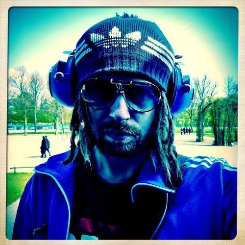 Rockin Cazal's Selfportrait Headphones Blue