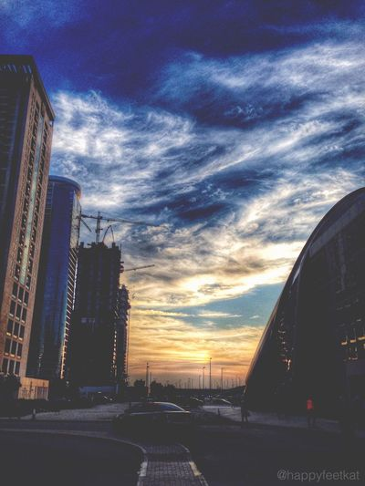 My Dubai Dubai Sunset Travel Daily Picture Nature Clouds Sky God's Beauty Miracles