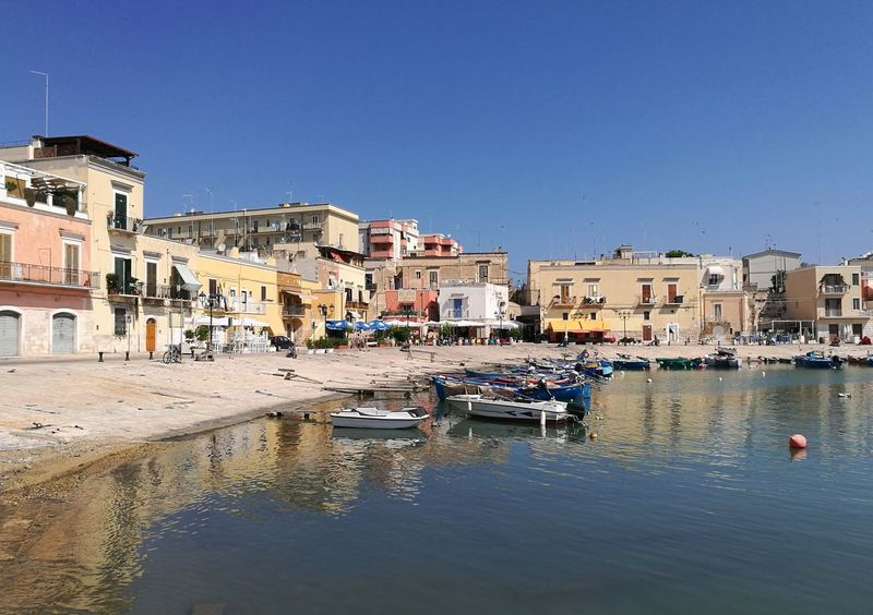 Puglia, Italia Water Nautical Vessel Building Exterior Architecture Transportation Built Structure Nature Building Mode Of Transportation Clear Sky Sky Residential District City Sunny Travel Destinations Day Reflection Waterfront House Outdoors