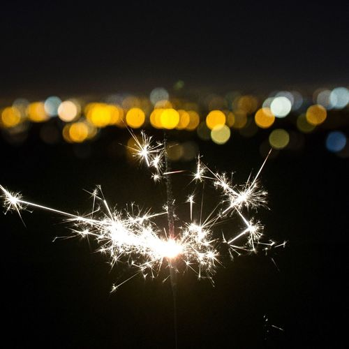 City lights and sparkler Bokeh Lights EyeEm EyeEm Selects EyeEm Gallery Eye4photography  EyeEm Best Shots Sparkler Still Life Lights Sparkling Nightphotography Night Lights Night Night Illuminated Glowing Celebration No People Sky Nature Motion Outdoors Low Angle View Light Firework Lens Flare Exploding
