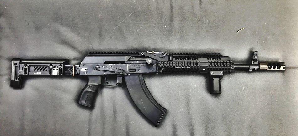 Metal Rifle Ak  Gun Kalashnikov Russia Engineering Mechanic