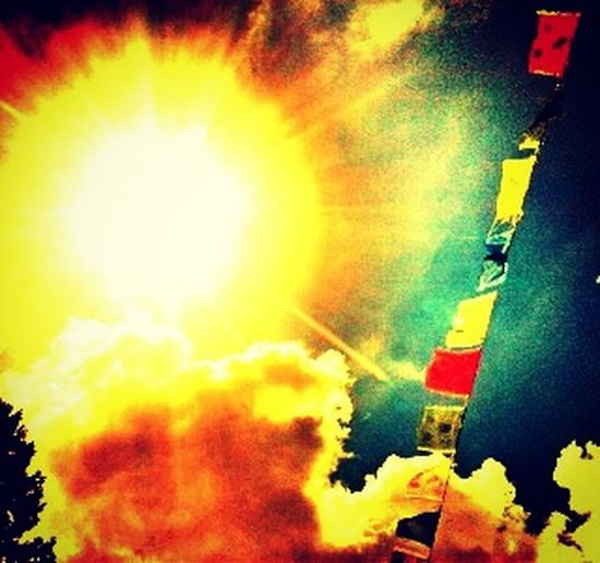 Multi Colored No People Paint Spraying Flame Close-up Art Is Everywhere Nature Sunlight Sacredheart Lizzola -BG- Italy