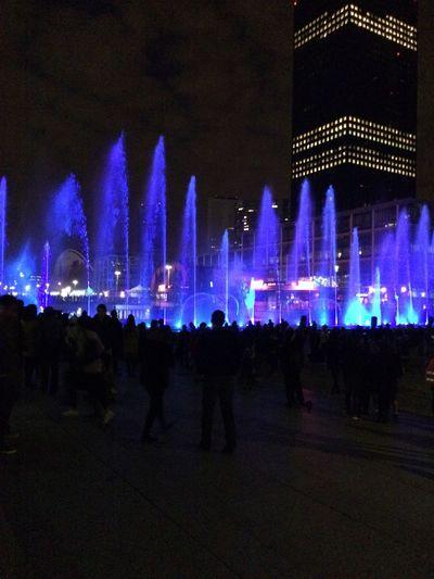 Ladefense Urbannight Paris ❤ France Lightshow