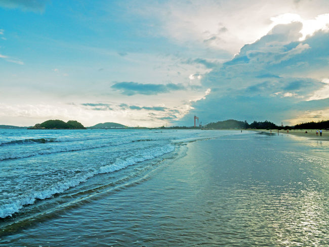 quang ngai, viet nam Country Skyline Beach Beauty In Nature Blue Sky Countryside Ganh Yen Landscape Landscape_photography Nature Outdoors Quang Ngai Quantran Scenics - Nature Sea Sky Tranquility Travels Water Waterfront