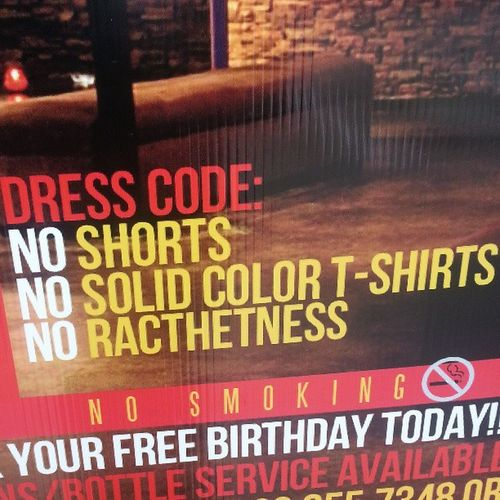 """Will someone please explain """"ratchet"""" to me? And how it pertains to dress code? Ratchet Noratchetness Daquiritas Racthet ? Lol misspelled"""