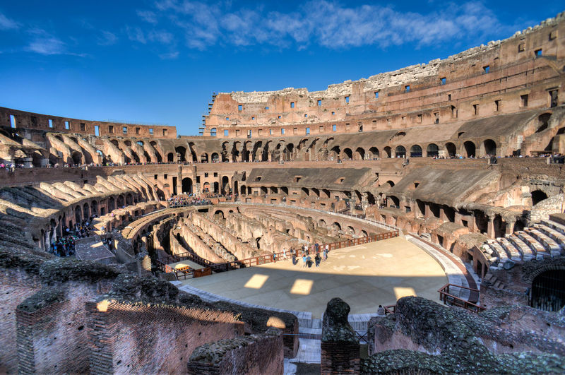 Amphitheater Ancient Ancient Civilization Archaeology Architecture Built Structure Capital Cities  Coliseum Colosseo Colosseum Culture Famous Place History International Landmark Italy Italy❤️ Old Old Ruin Ruined Sky The Past Tourism Travel Travel Destinations UNESCO World Heritage Site