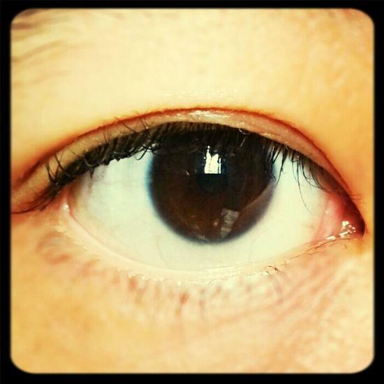 Eyes don't lie.