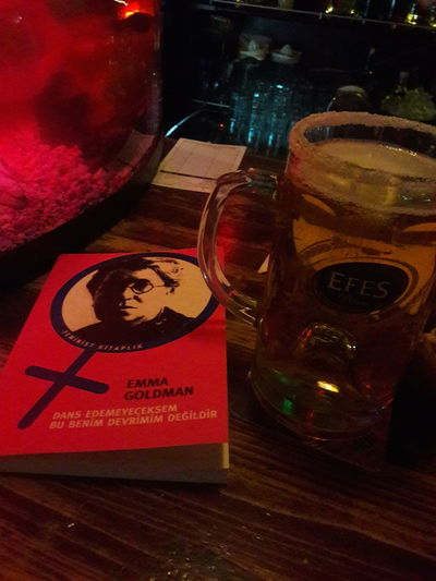 One Woman Only People Headshot Genclik Parki Deepshoot Anarshism Emma Goldman Bar