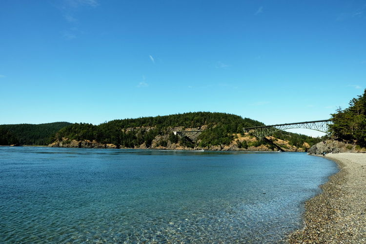 Deception Pass Pacific Pacific Northwest  Strait Of Juan De Fuca Whidbey Island Beauty In Nature Blue Clear Sky Day Fidalgoisland Idyllic Land Nature No People Non-urban Scene Outdoors Plant Scenics - Nature Sea Sky Tranquil Scene Tranquility Tree Water Waterfront