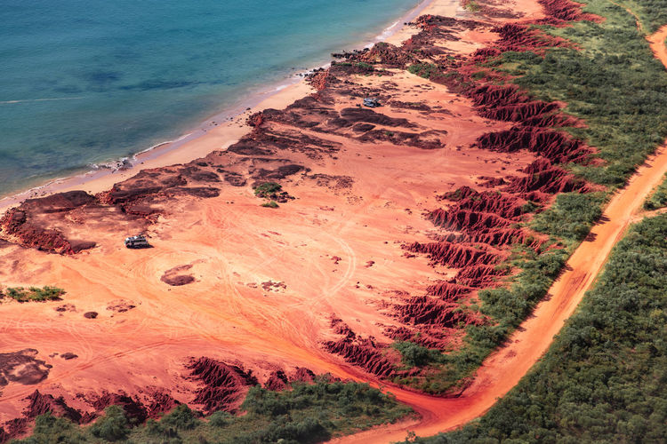 James price oint with it's red soil- pindan- in the kimberley region in western australia