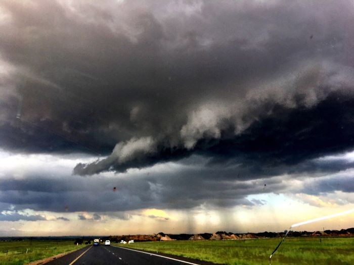 Storm Cloud South Africa Sky