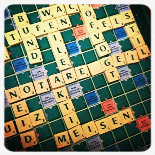 NOTARENGEIL - Ein Scrabble-Versuch meiner Mutter