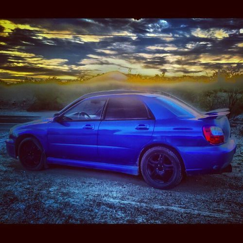 Just for @cskizzy Terrible Cellphonehdr Ghosting HDR Sunset Subaru Wrx Wrb Fast Sexy Dirty