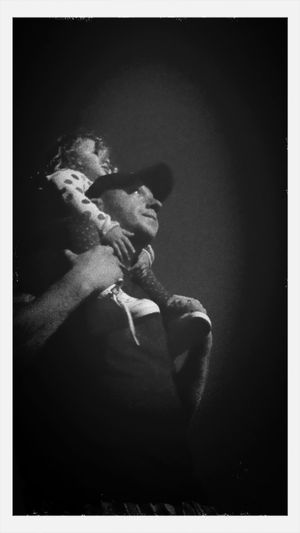 The Portraits -2015 EyeEm Awards Father an daughter sharing a 4th of July moment together watching the patriotic firework show. Enjoying Life Taking Photos Relaxing