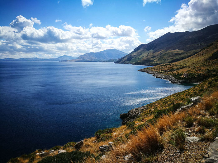 blue September Sicily Beauty In Nature Nature No People Sea Sky Tranquil Scene