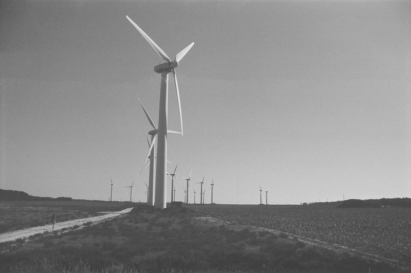 Electricity  Energy Windmill Wind Turbine Generator Renewable Power Electric Innovation Environment Ecology Industrial Modern Sustainable Farm Environmental Sustainability Development Green Electrical Production New Mill Innovative Alternative Station Equipment Ecological Sky SPAIN Landscape Plant Technology Blue Windfarm Field Generation Windturbine System Blade White Nature Resources Renewable Resource Countryside Propeller Wind-turbine Up Close