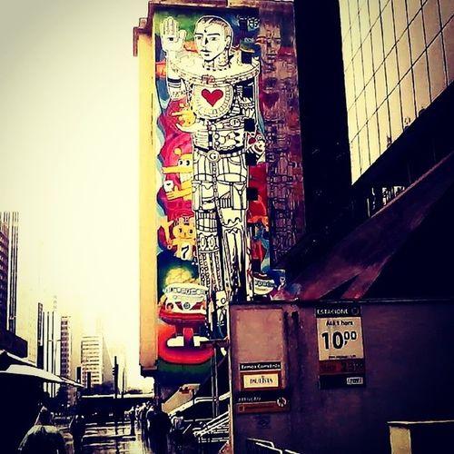 Sao Paulo Av Paulista Grafite street art