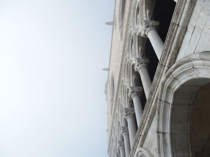 Low angle view of built structure