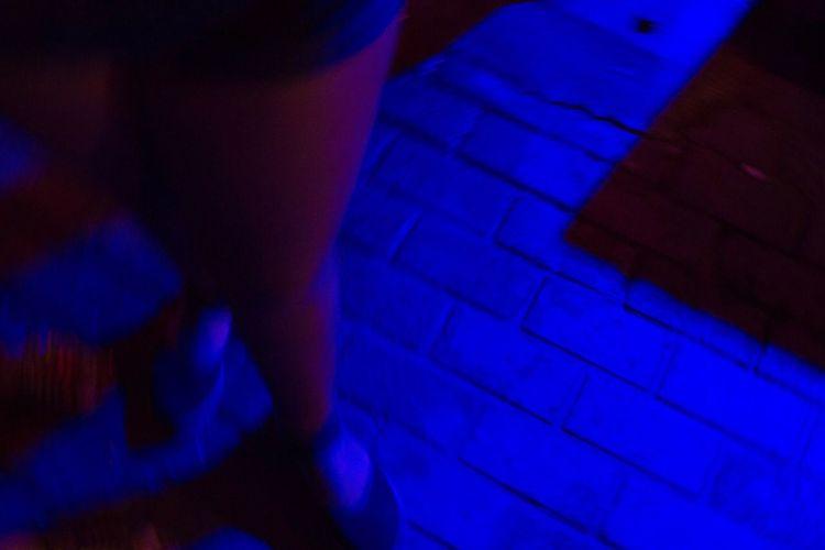 Blue Colored