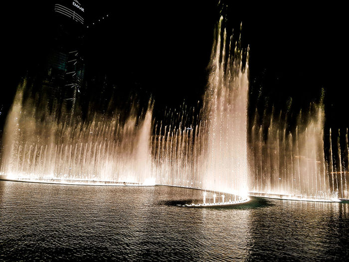 Splashing Motion Water Spraying Fountain Heat - Temperature Drop Long Exposure No People Nature Outdoors Power In Nature Close-up Day Fountains Dubaifountains DancingFountains Fountainsdubai Fountainshowdubai UAE , Dubai Travel Destinations UAE Pakistan Vacations Modern