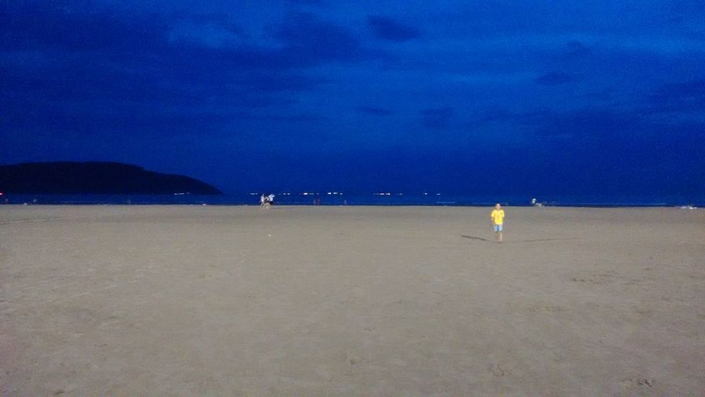 Praia,noite,mar,ceu,azul Beach Water Nature Sea Beauty In Nature Day Horizon Over Water Nautical Vessel Scenics Outdoors Sky Vacations Sand No People First Eyeem Photo