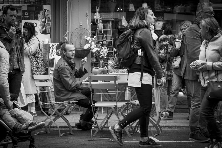 Cafe City City Life Large Group Of People London People Real People Street Photography The Street Photographer - 2017 EyeEm Awards