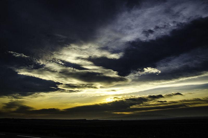 Cloud Cloud - Sky Cloudscape Cloudy Dramatic Sky Outdoors Sky Sunset