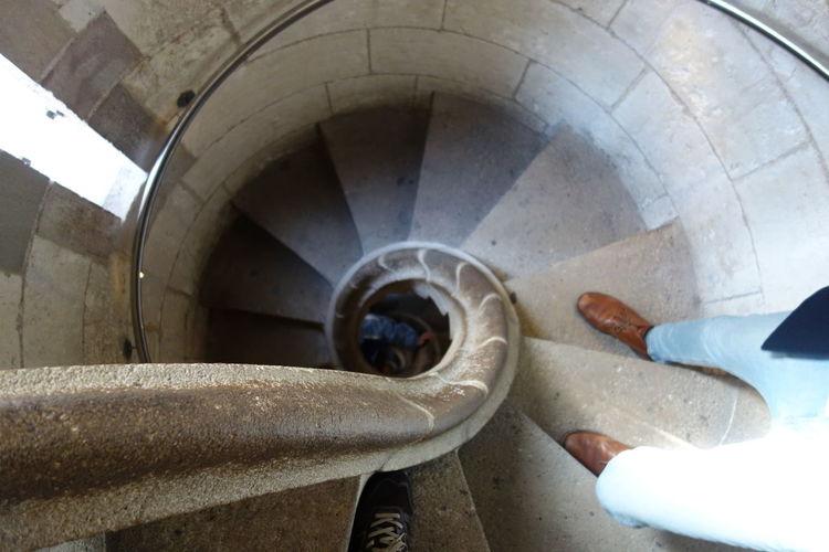Barcelona Gaudi Sagrada Familia Spiral Staircase Staircase