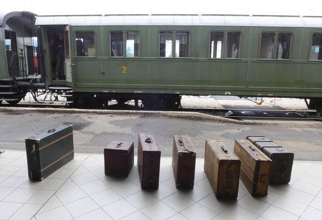 Treno Baggage Bags Day Lagguage Mode Of Transport Public Transportation Rail Transportation Train - Vehicle Transportation