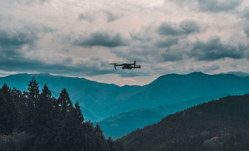 Japan Travel Shootermag Drone  Drones AMPt_community EyeEm Mountain Sky Cloud - Sky Tree Air Vehicle Plant Mode Of Transportation Transportation Flying Scenics - Nature Beauty In Nature Mid-air Nature Mountain Range Airplane No People Day Outdoors Plane Non-urban Scene Aerospace Industry
