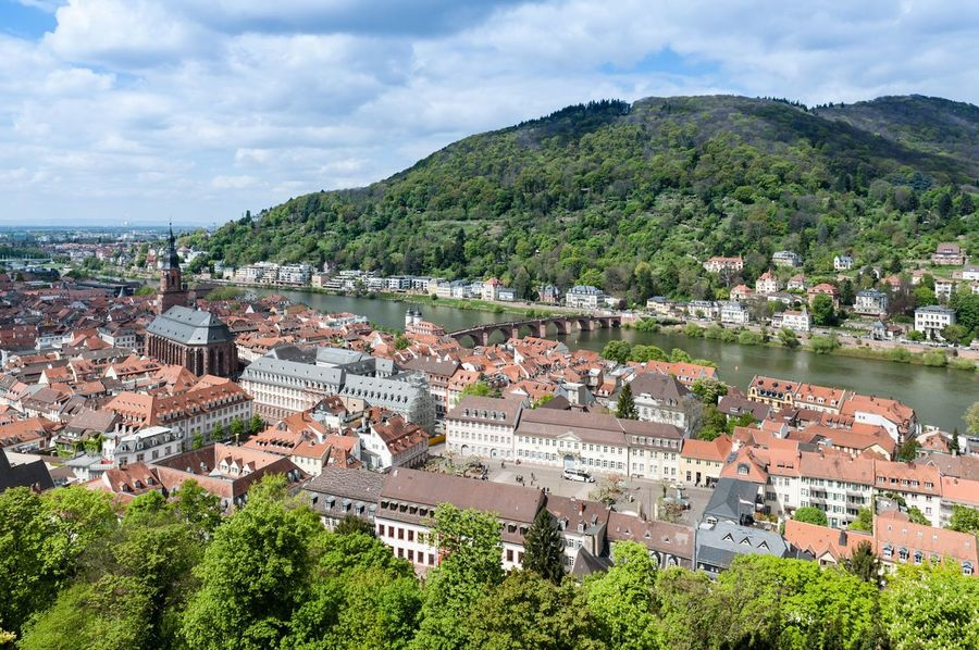 2017 Germany Heidelberg Architecture Building Exterior Built Structure Sky Tree Outdoors High Angle View No People Cloud - Sky Day Residential Building Mountain Cityscape City Nature Water Travel Photography Heidelberg GERMANY🇩🇪DEUTSCHERLAND@ The Week On Eyem