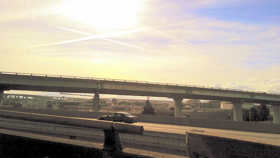 Highways&Freeways Looking Out Of The Window Taking Photos Landscape