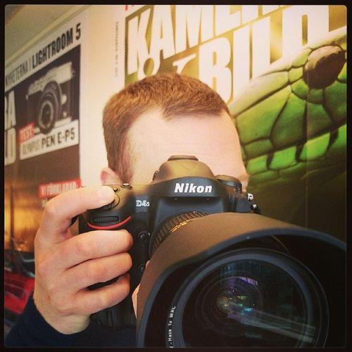 Precis fått in nya Nikon D4s för test!